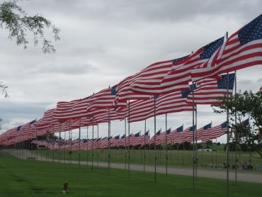 cemetery flags reduced