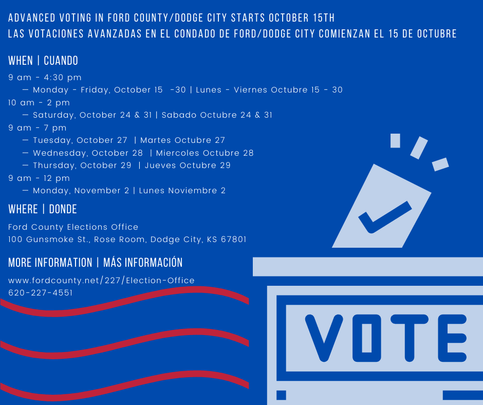 Advanced Voting Schedule