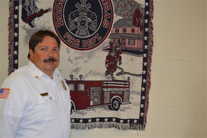 Fire Chief Robert Heinz