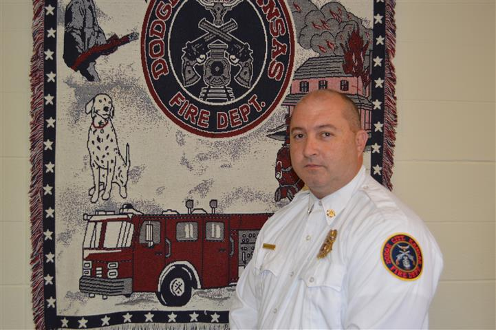 Deputy Fire Chief Ken Spencer