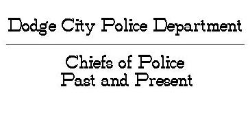 DCPD Police Chiefs