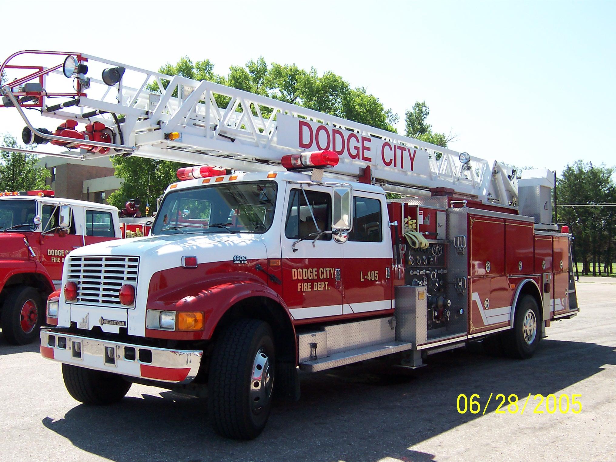 Dodge City, KS - Official Website - Fire Equipment & Other Vehicles